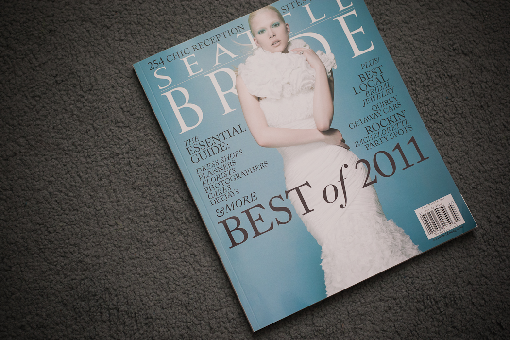 Best of Weddings 2011 Seattle Bride Magazine