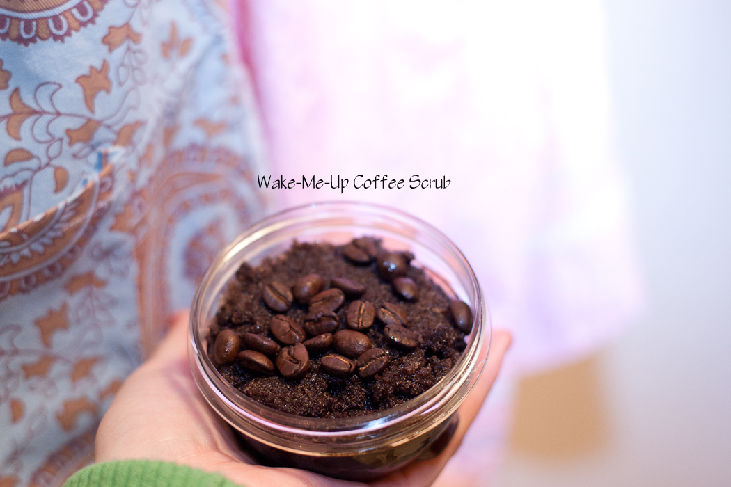 coffee sugar scrub, how to make coffee sugar scrub, fun diy scrub, spa gift diy, coffee lover gift, gift for her