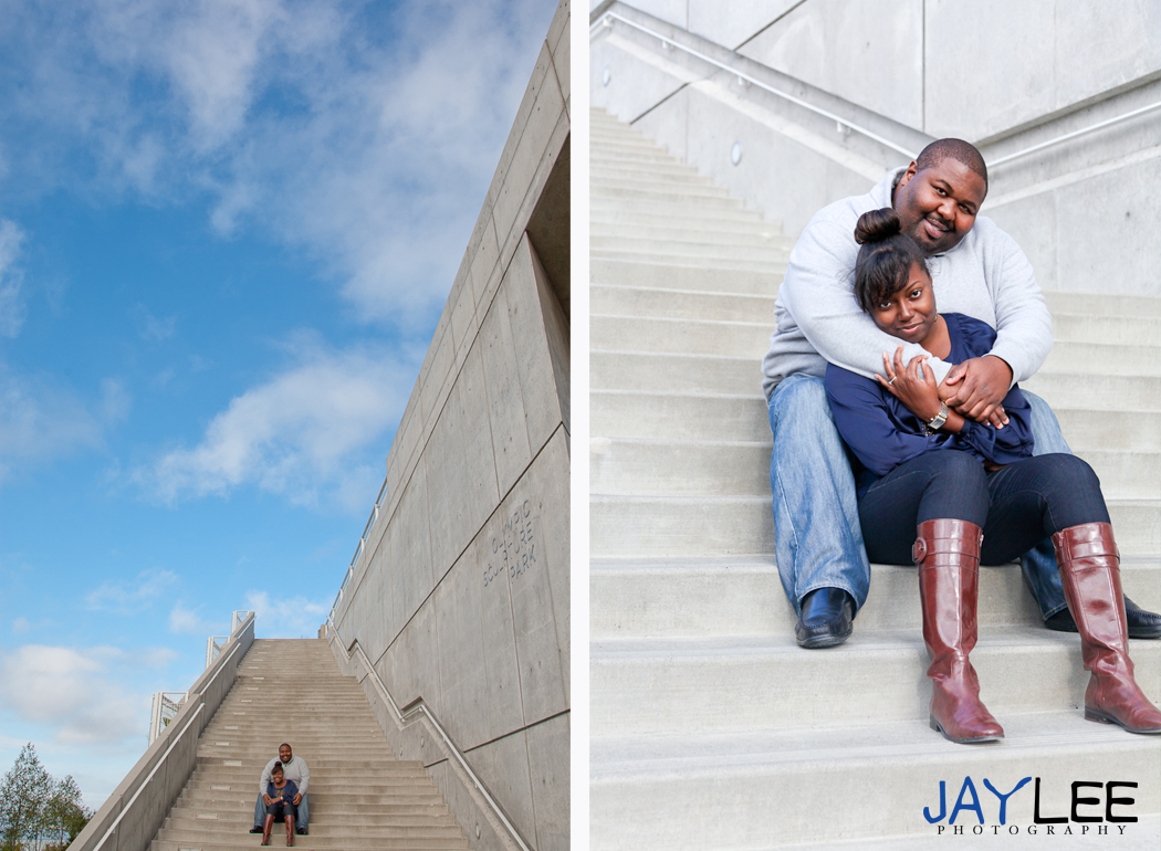 stairs engagement photography, couples pictures stairs, sky photo love, love photo, love photography, fall engagement clothes