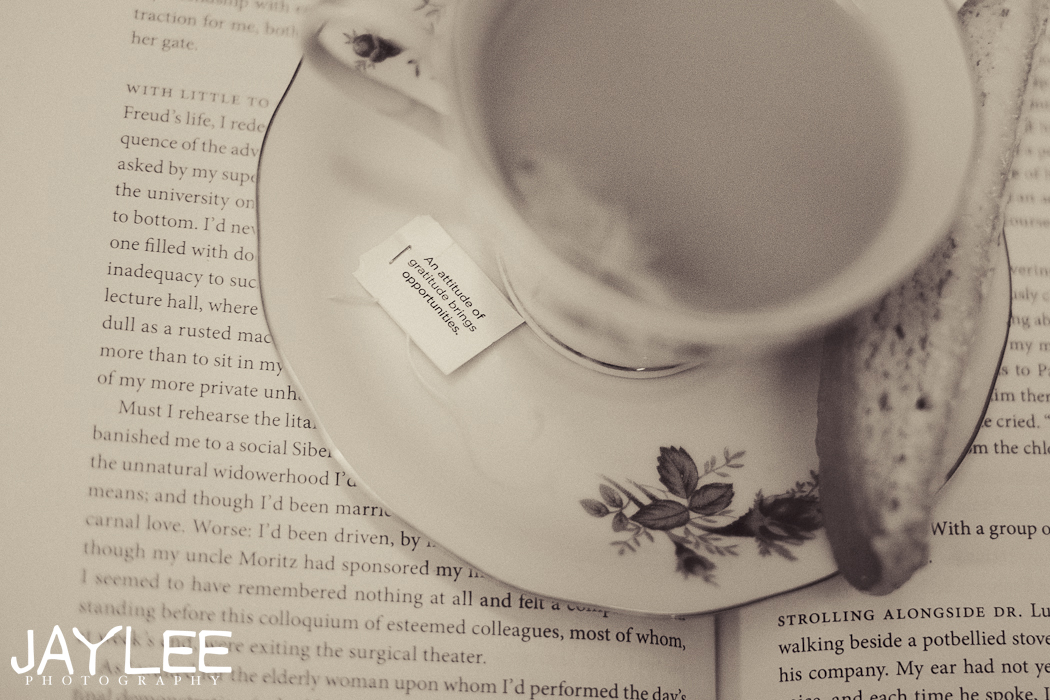 tea cup photo, tea quote photo, tea and book photo, cup of tea photo, seattle photographer, seattle portrait photographer, tea time photos, newlywed blog, husband and wife blog, positive married blog, blog about marriage