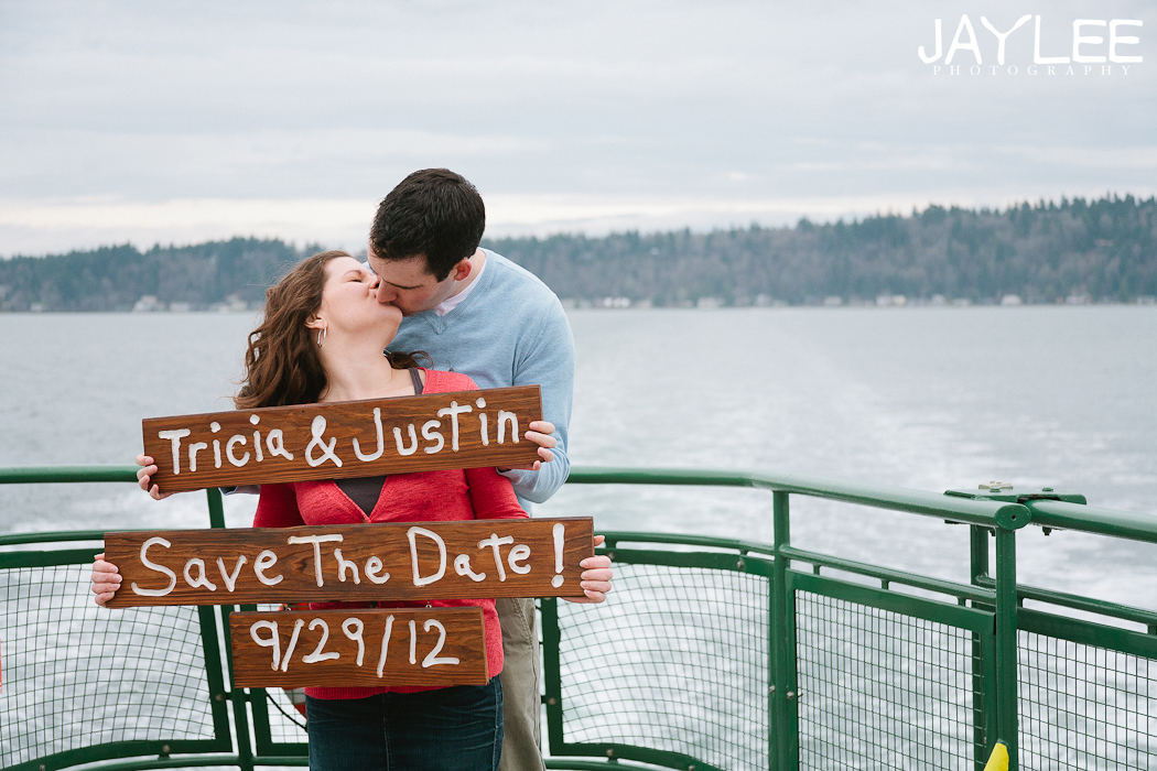 save the date photography seattle, seattle std photography, save the date ideas seattle