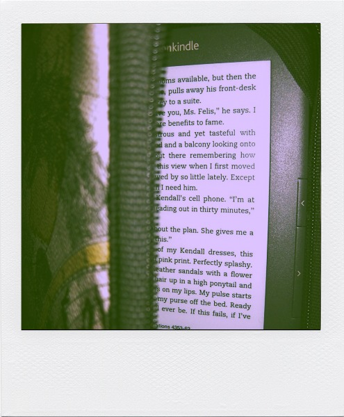 kindle, polaroid, our life lately, chick lit