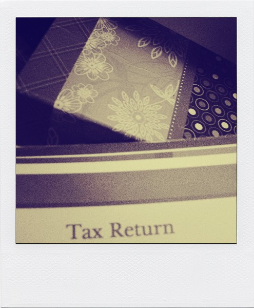 tax return, a necessary evil, married tax return, business tax return, new marriage