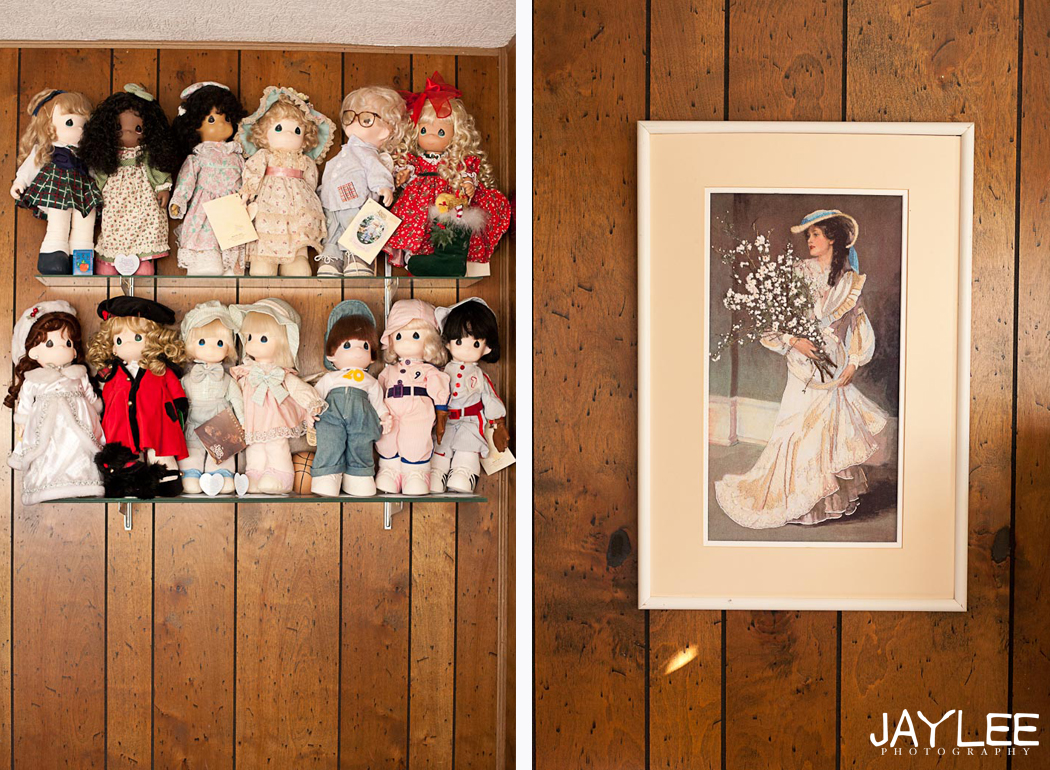 doll collection, grandmother's house photography, seattle lifestyle photographer, documenting life photography seattle