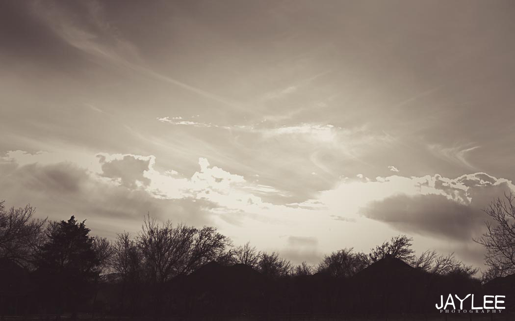 sun through the clouds black and white, landscape photography