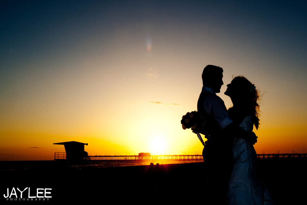 sunset wedding photo, seattle wedding photographer, wedding timeline, creating a wedding timeline, wedding timeline for photographers, huntington beach, sunset photography wedding, wedding formals