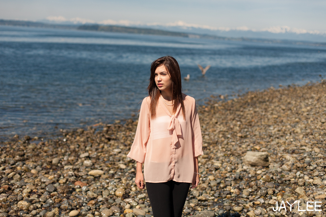portrait beach photography, senior portrait seattle, portrait photography seattle, model photographer seattle