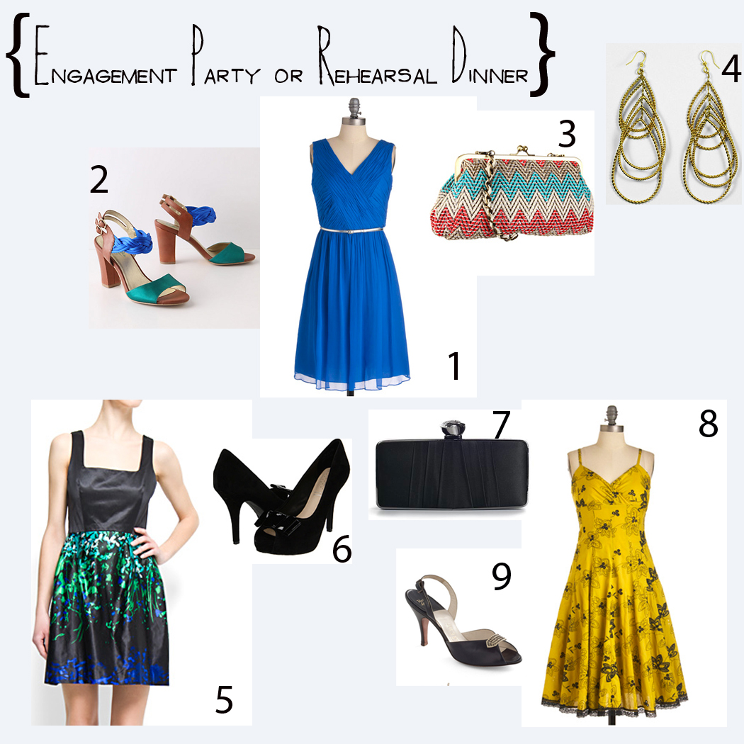 what to wear to engagement dinner