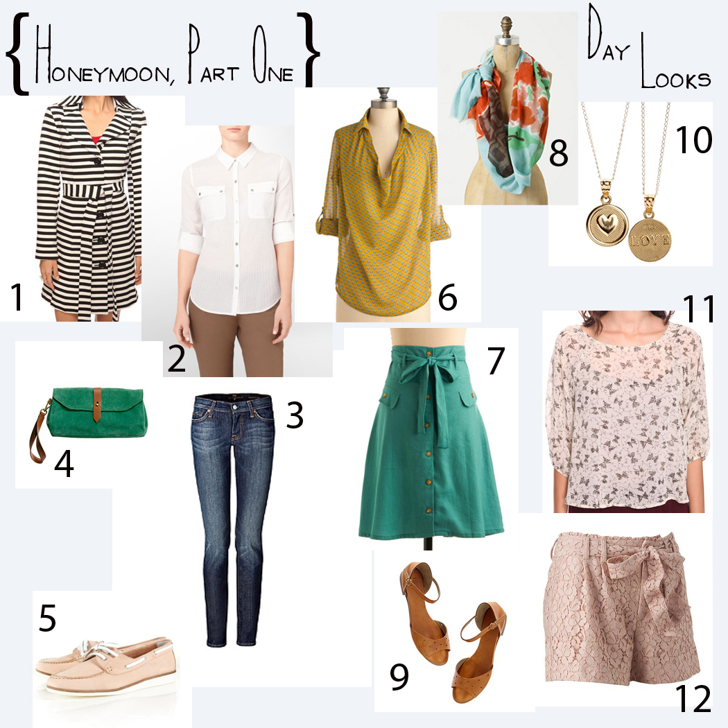 Honeymoon Clothes For Bride: For The Bride: Wedding Week – What To Wear