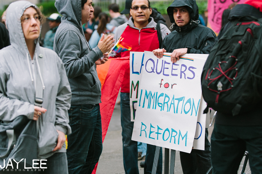 Seattle Immigration March