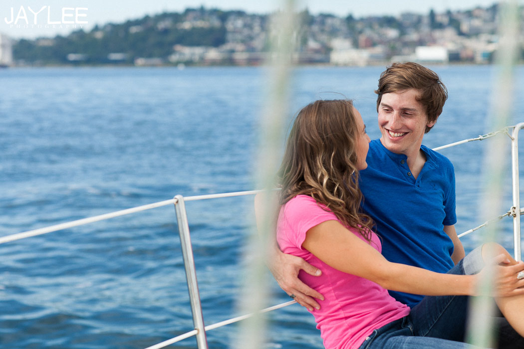 sailing engagement photography, couple on a boat, couples portrait sailing, let's go sailing, unique engagement seattle, seattle engagement photography, seattle engagement photography ideas, wedding photographers seattle, puget sound wedding photographers, seattle engagement photos, fun engagement photography, lifestyle photographer seattle, sailing photography seattle