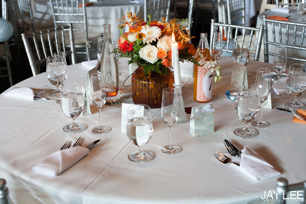 table place settings, wedding photography reception, withinsodo reception wedding
