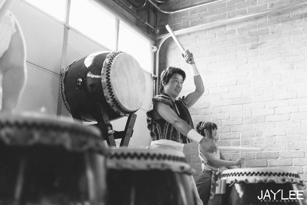 japanese drumming wedding