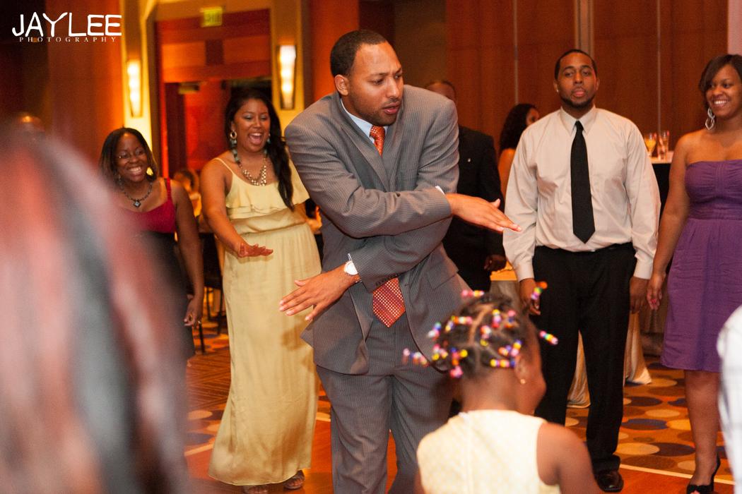 dance photography wedding