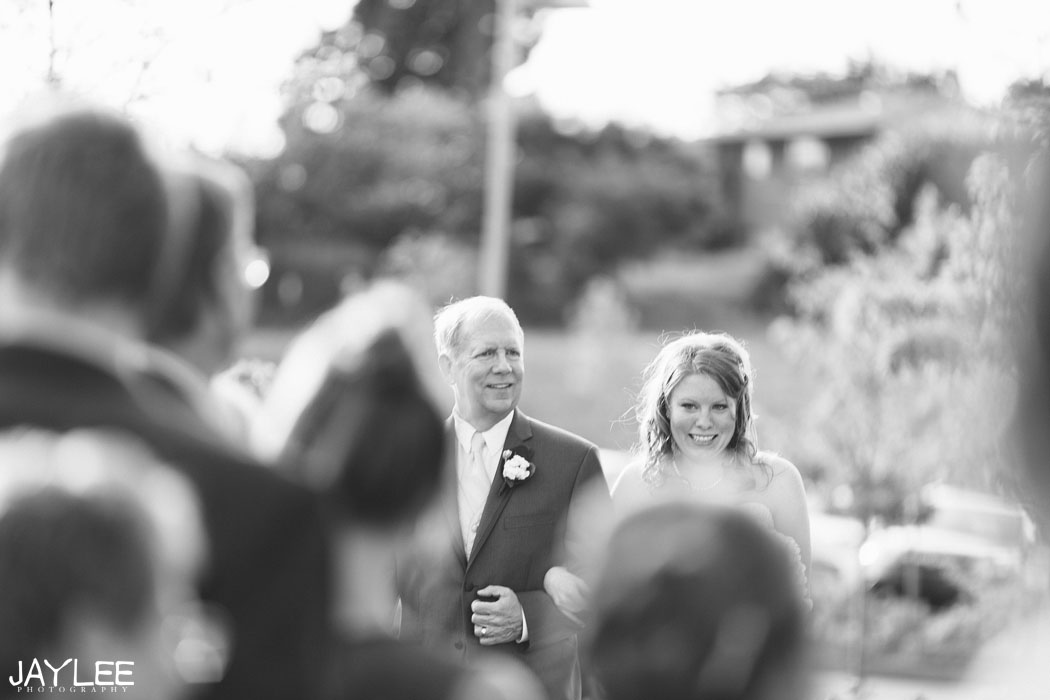 walk down the aisle, walk down the aisle photography, bride coming down the aisle, seattle ceremony photography