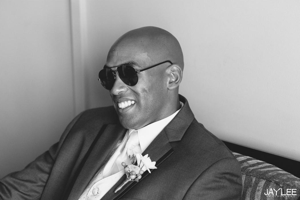 three piece groomsman suit in seattle, washington