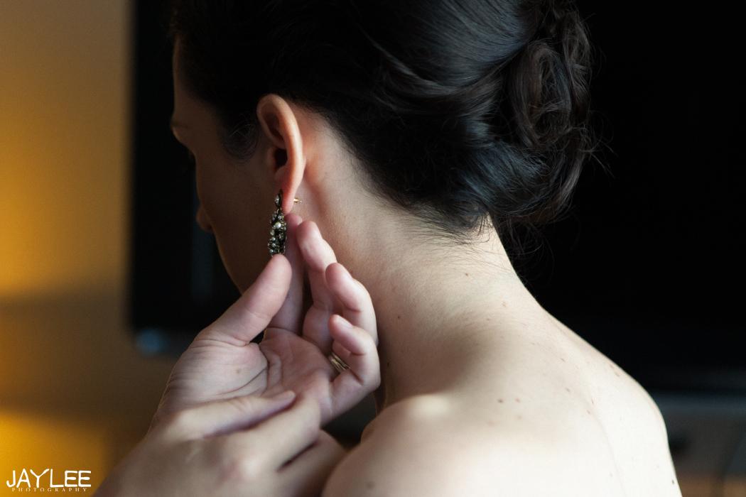 bridal earrings seattle, washington