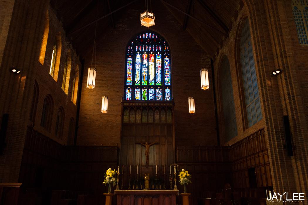 blessed sacrament church wedding seattle, washington