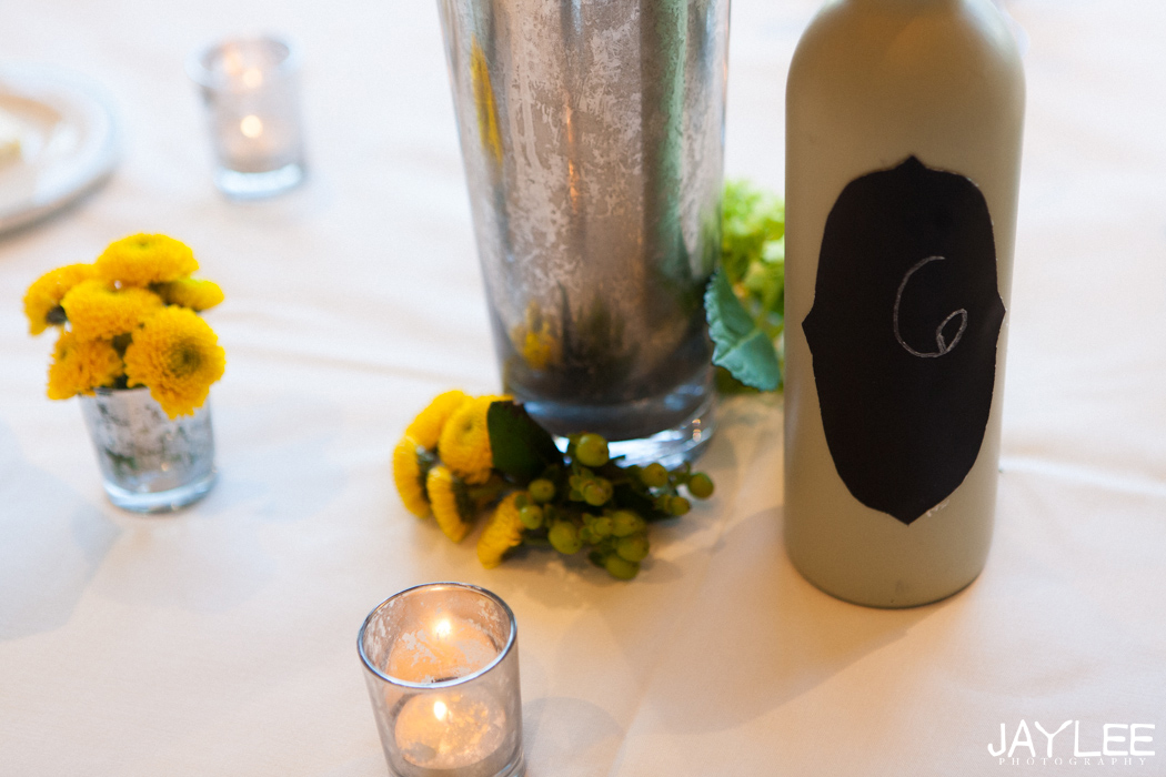 diy wine bottle centerpieces for wedding reception