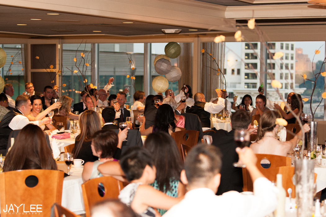 wedding reception at harbor club seattle