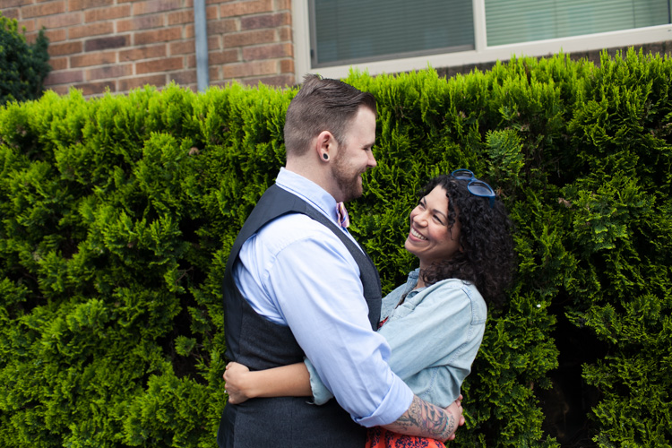 capitol hill seattle engagement session