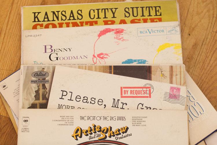 wedding day vinyl records