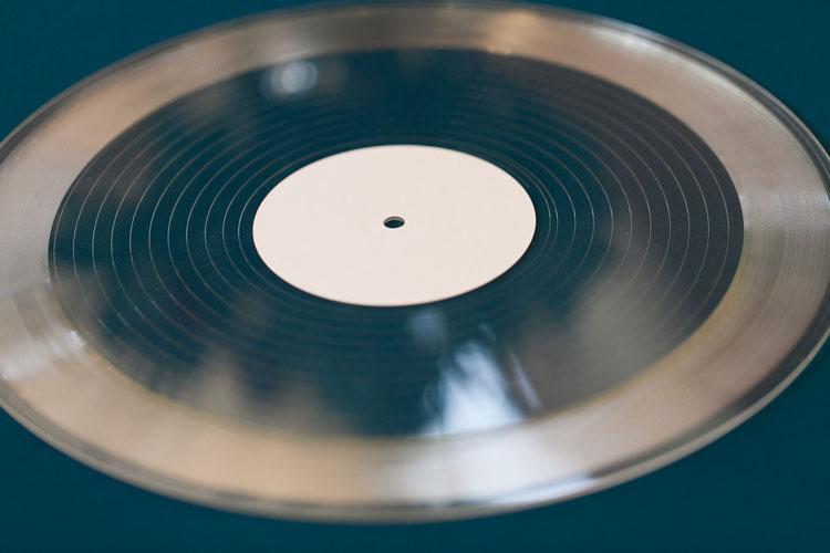 wedding day custom vinyl records