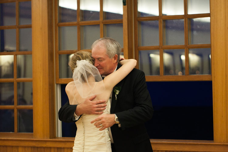 father daughter dance wedding reception steilacoom town hall, washington