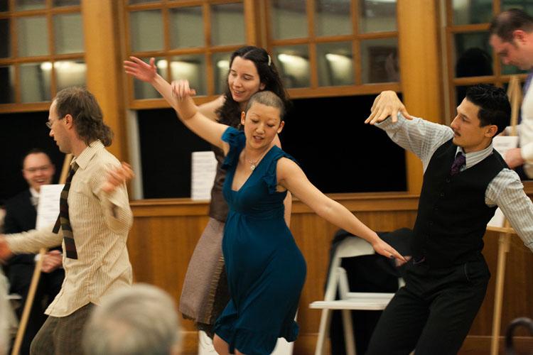 choreographed dance wedding reception Washington