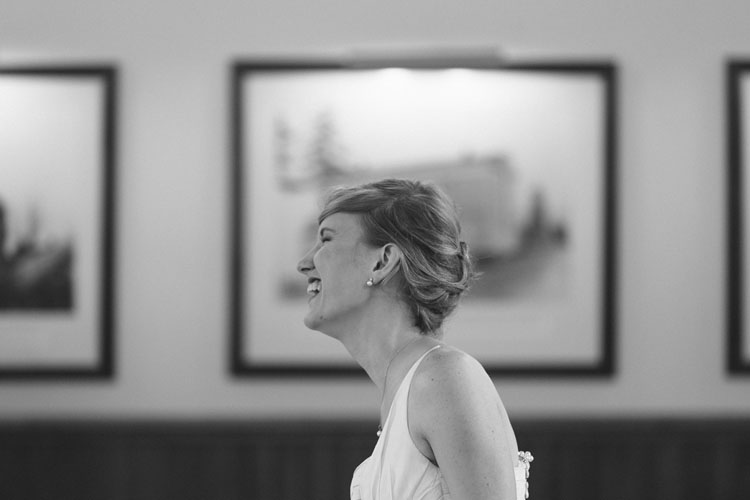 laughing bride in steilacoom, washington
