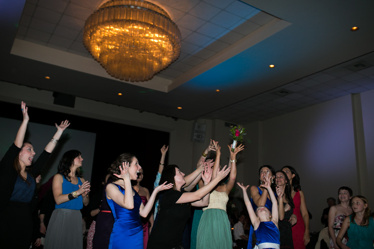 bouquet toss st demitros hall seattle