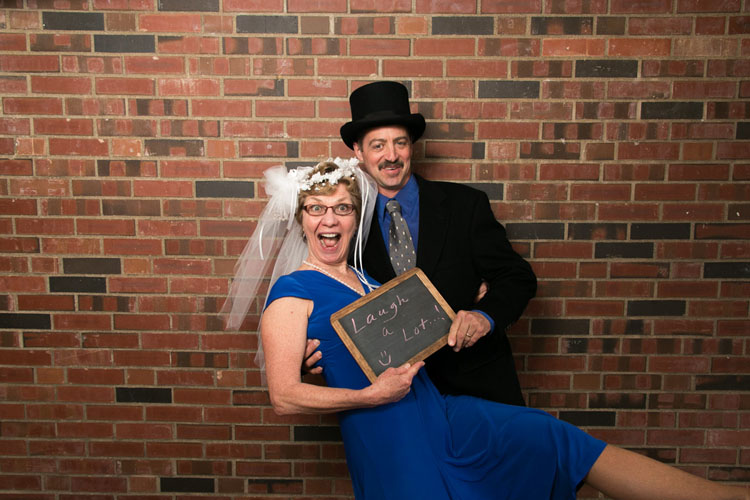 wedding photobooth chalkboard sign bride and groom