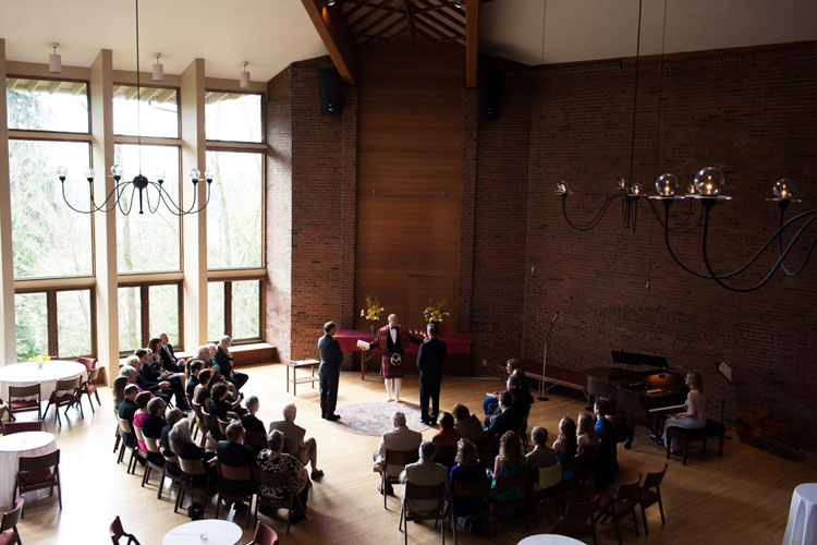 mercer island congregational church wedding ceremony