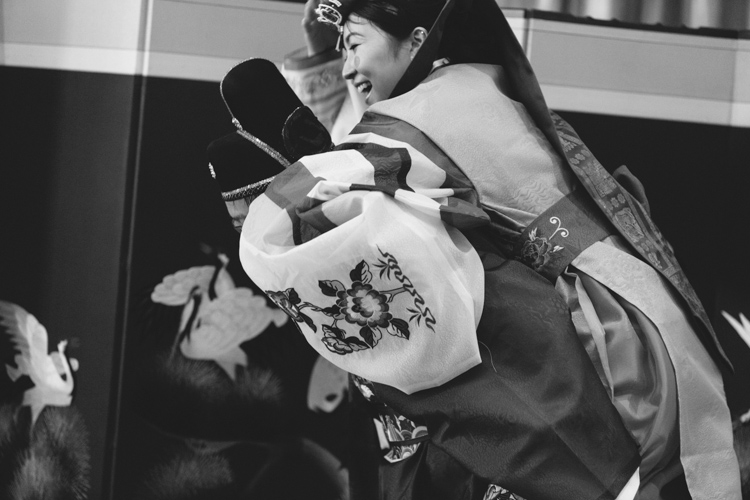 piggyback ride korean ceremony