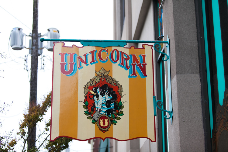 the unicorn in seattle