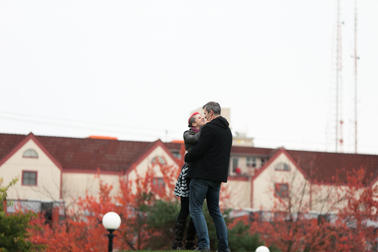 cal anderson park engagement session