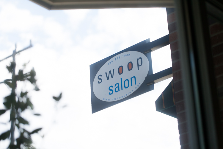 swoop salon wedding hair