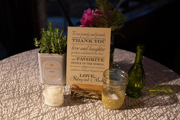 vintage style wedding reception centerpieces