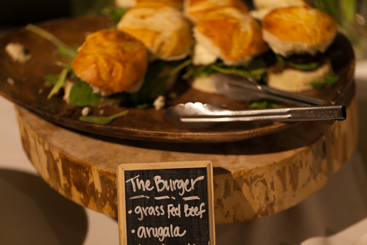 skillet sliders for wedding reception