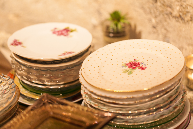 stylish wedding reception details