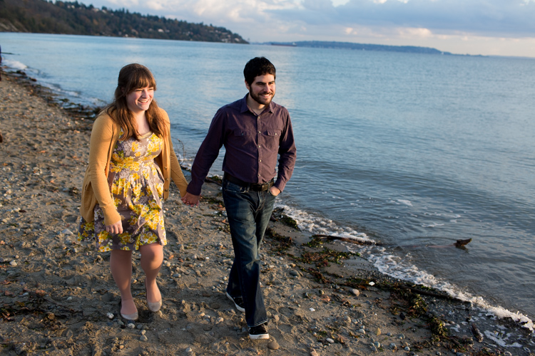 discovery park beach engagement session