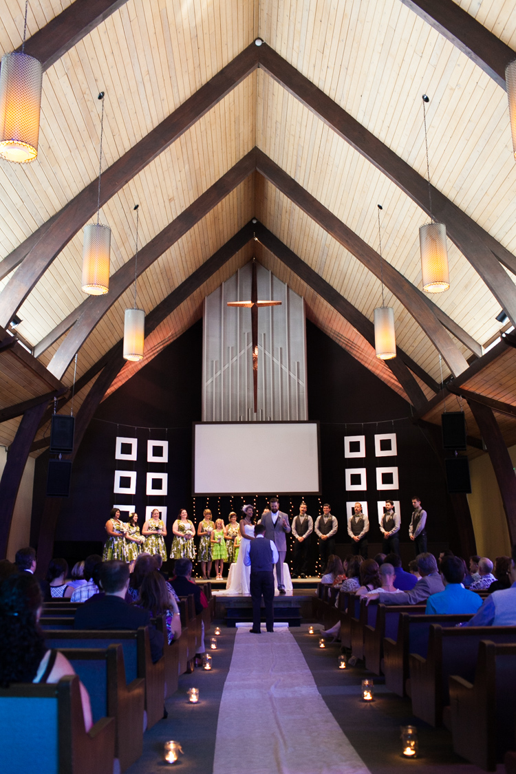 beautiful church wedding seattle