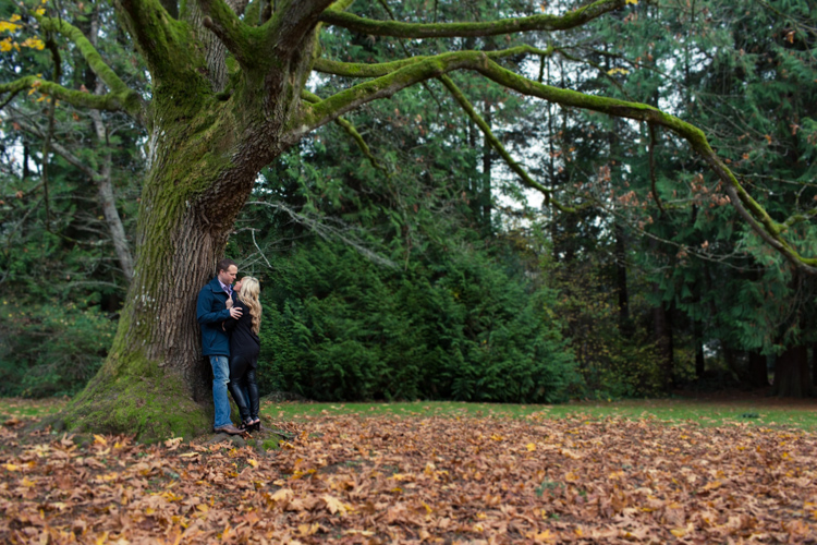 seattle park fall engagement