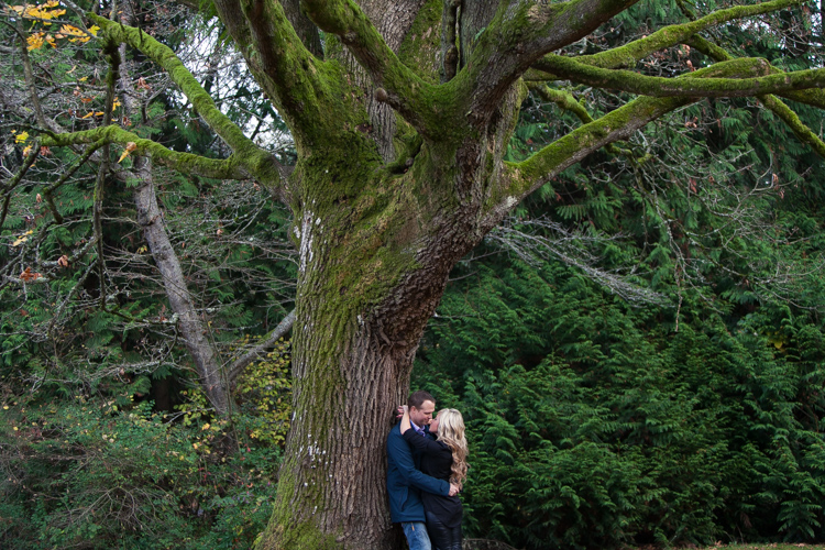 engagement session in park