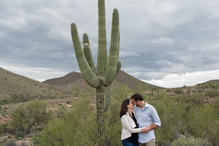 cacti engagement session