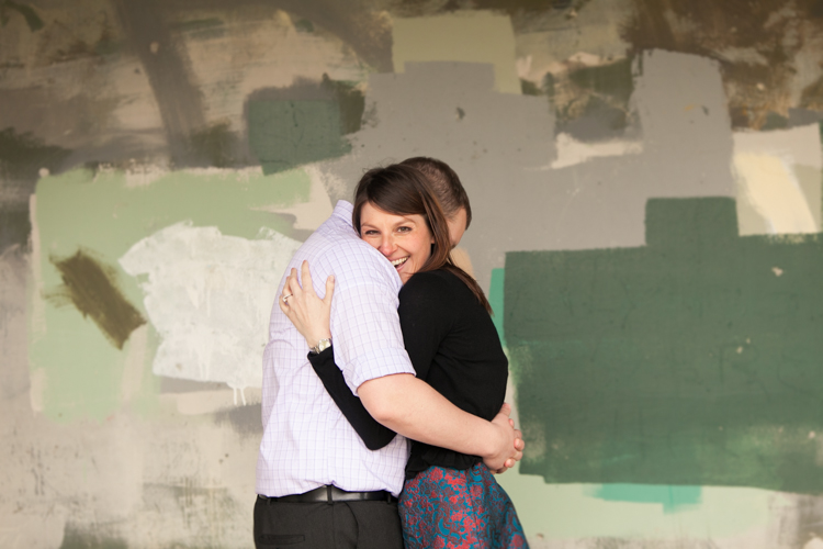 textured background engagement photography