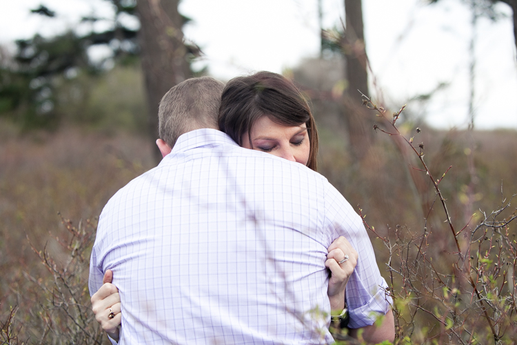 engagement photography tall grass