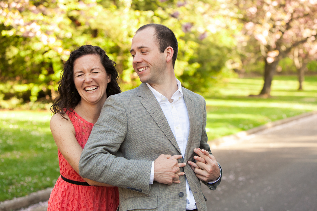 fun engagement photographer seattle