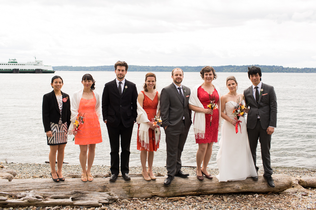 lincoln park wedding party photography