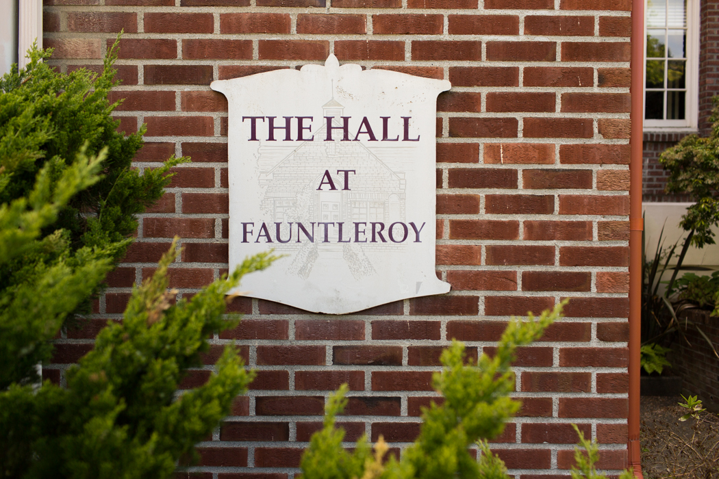 the hall at Fauntleroy